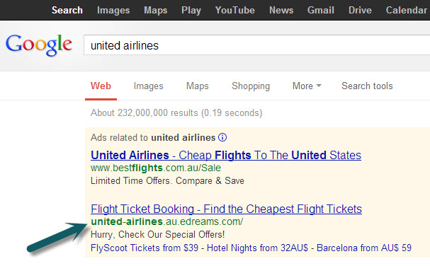 United Airlines Trademark