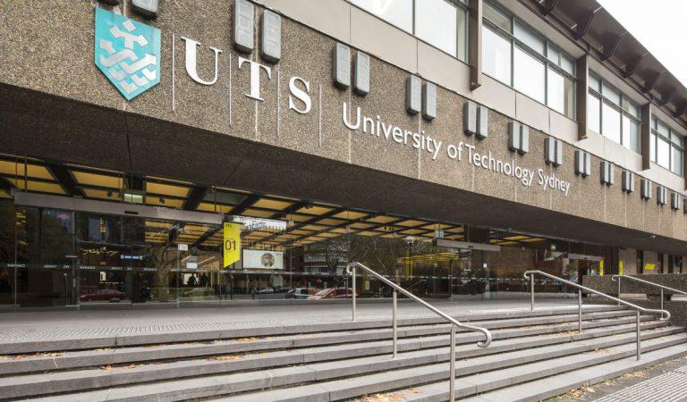 UTS main building entrance