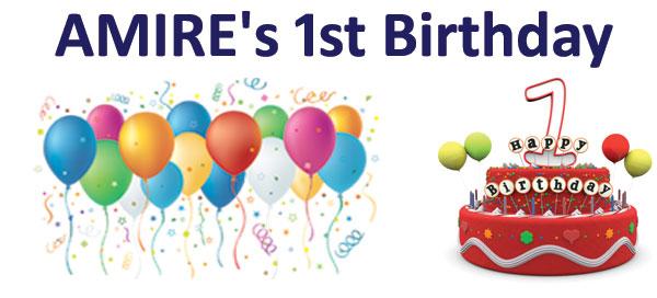 AMIRE's 1st Birthday