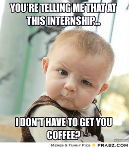 SEO Internship Coffee Meme