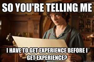 SEO Internship Experience Meme