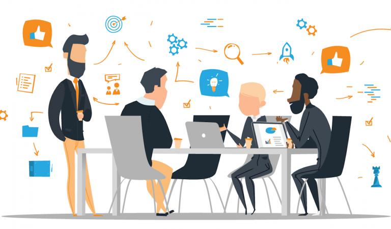Digital marketing Internship Meeting