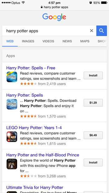 google-app-pack-results-ios-device