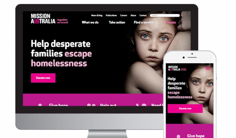 Mission Australia Website