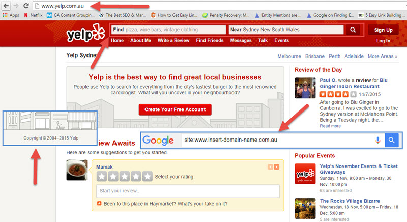 Determining the quality of local business directory sites
