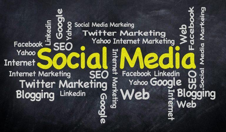 Marketing Word Cloud Social Media Internet Word