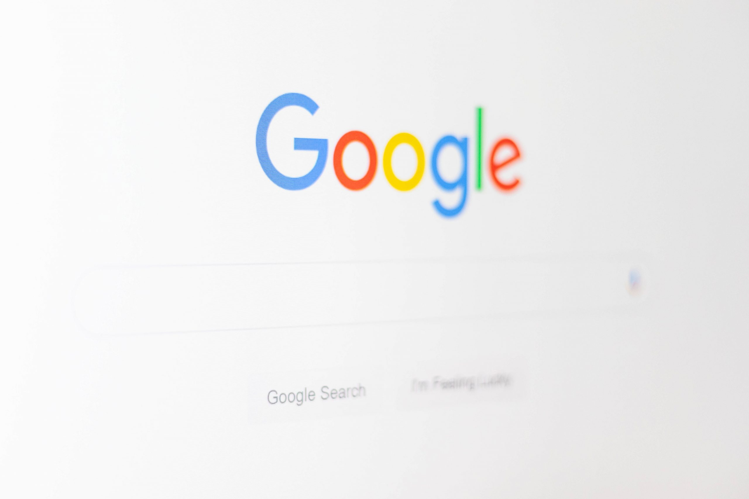 The Google Search bar