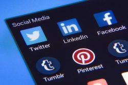 Social Media Blue Logos